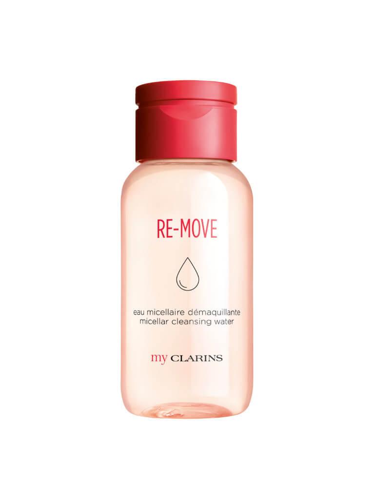 my CLARINS RE-MOVE速效紓緩卸妝水 $150/200ml 看準Z世代市場的崛起,CLARINS於早前推出副線my CLARINS,而且是100% Vegan-friendly。這款蘊含植物萃取的卸妝水,集潔膚、卸妝和護膚功能於一身。當中的超微細潔淨微粒溫和透徹地潔淨肌膚,輕易卸除彩妝、油脂與污垢,用後亦毋須用清水沖洗。