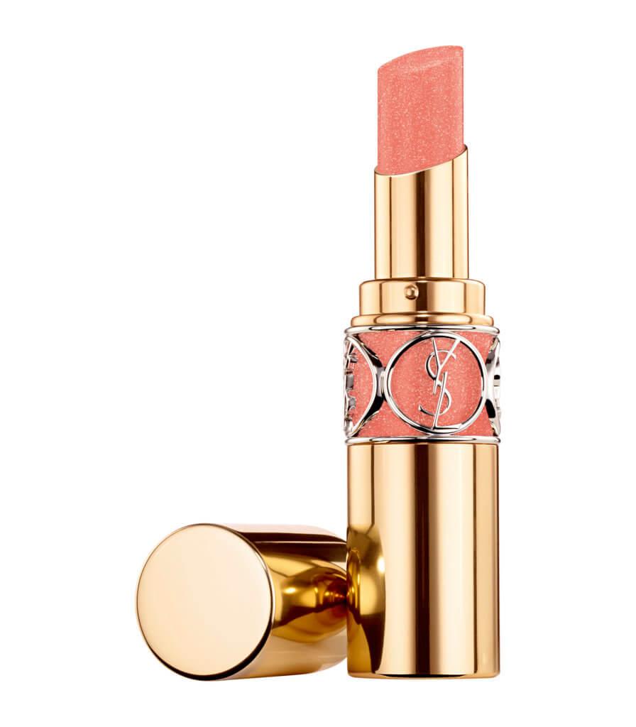 YSL POPPIN' FRESH 迷魅亮彩唇膏 $295 喜歡淡妝的話,YSL的POPPIN' FRESH唇膏新色#144就非常適合,它可以為雙唇注入完熟蜜桃的光澤,低調自然地帶出唇部的光澤和水潤,捕捉甜美的春日時光,讓人看見就想吻下去。