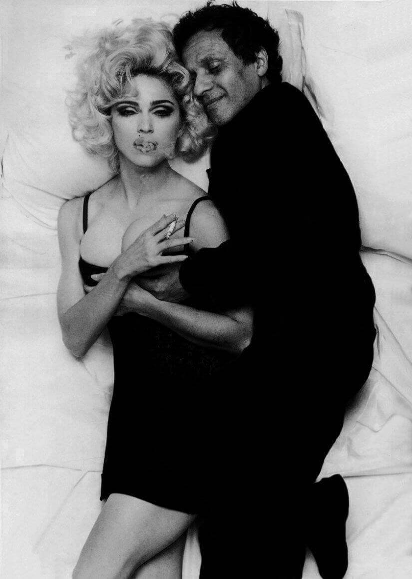 Madonna與Azzedine Alaïa