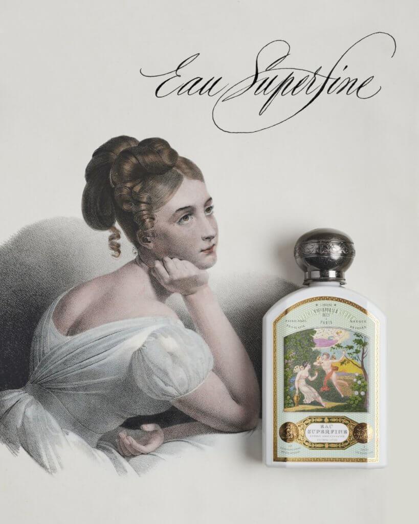 BULY 1803 EAU SUPERFINE紓緩化妝水 $380/190ml 添加了蒸餾玫瑰水的化妝水,可發揮二次潔膚效果,同時活化肌膚、均勻膚色。