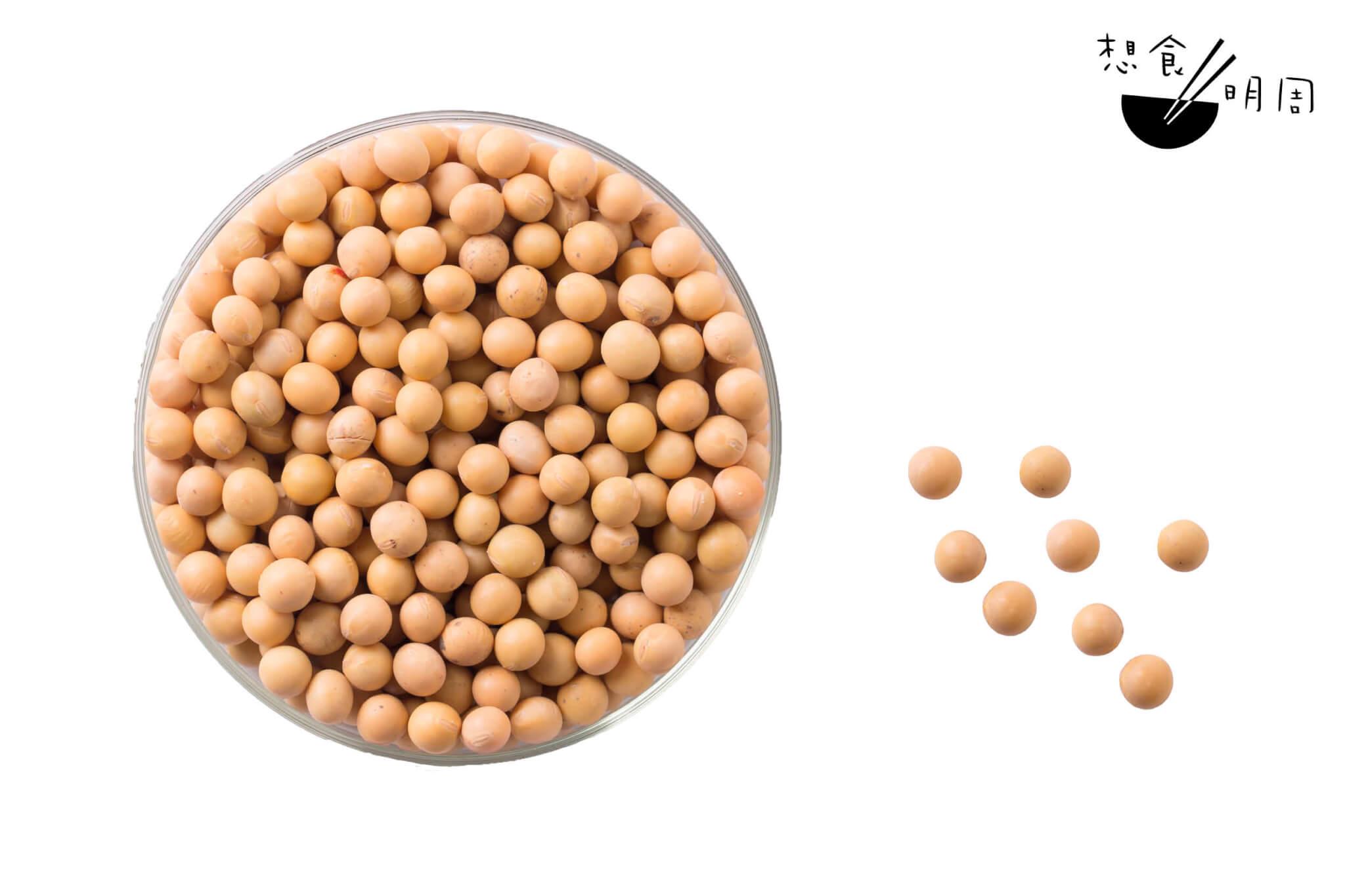 傳統素肉多以黃豆中的大豆蛋白作為主要材料。