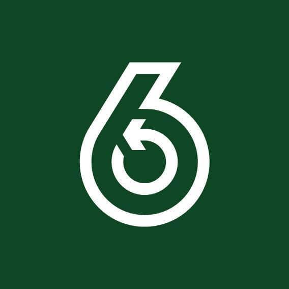 每間「6仔」都是以這商標做招牌,設計簡約,同時引起人好奇。