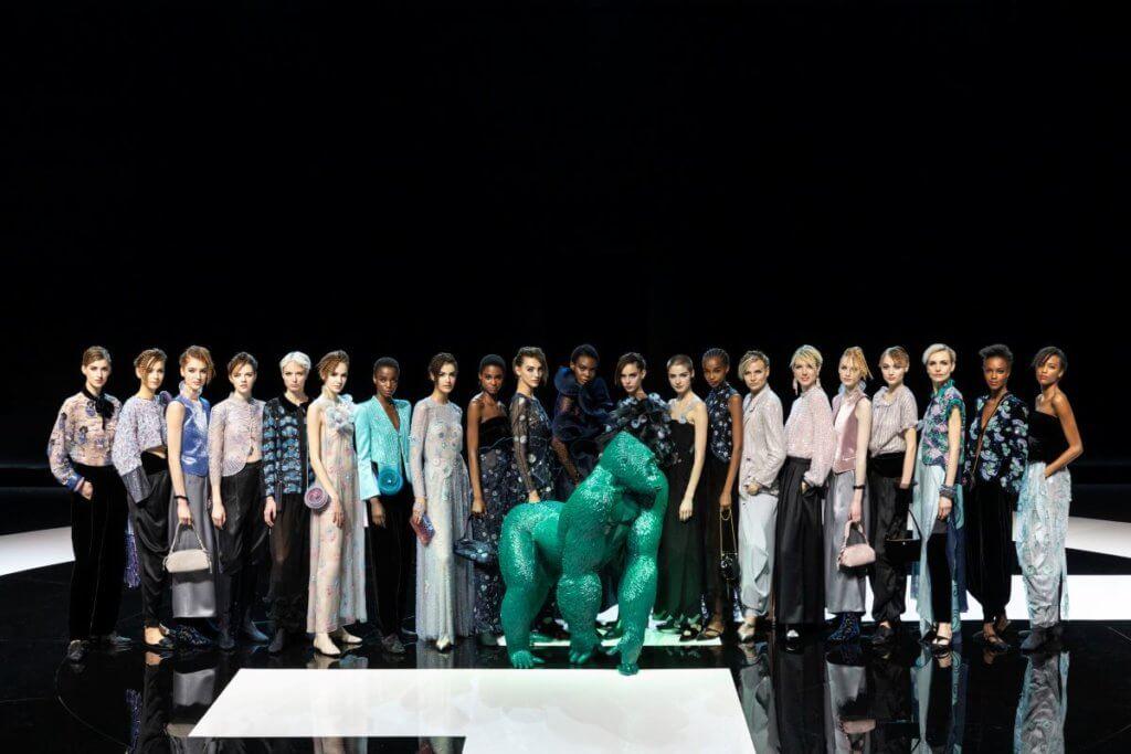 Giorgio Armani以網上形式發表最新2021秋冬系列。