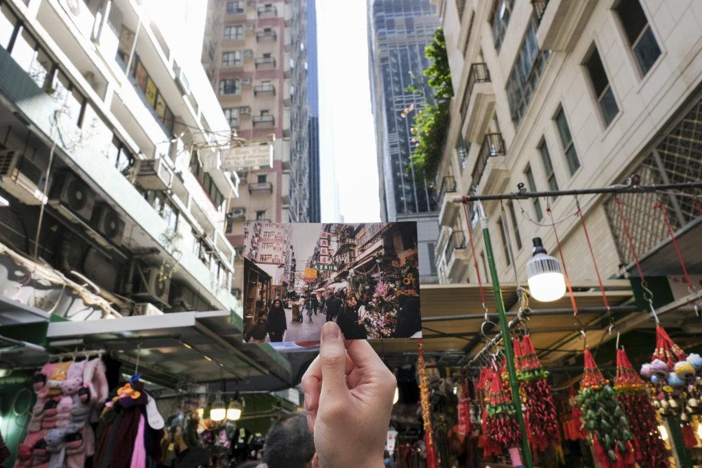 現在的太原街仍然保留着傳統小販攤檔