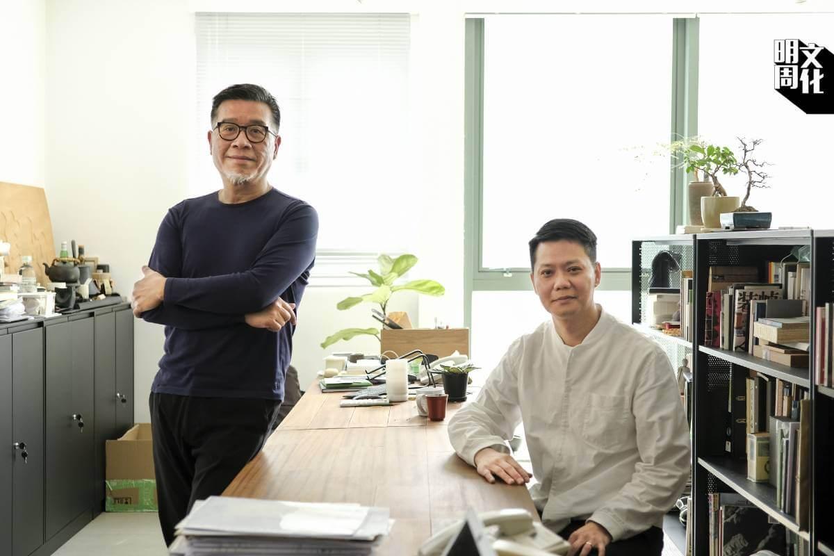 負責品牌設計的CoDesign設計師創辦人余志光(Eddy)和林偉雄(Hung)