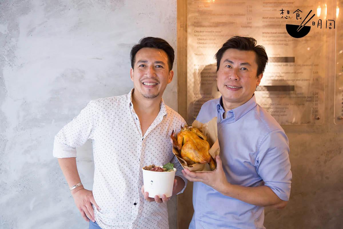 香港店負責人Cary(左)和Terence(右)是兩兄弟,早年在悉尼生活,直言越南河粉是他們的comfort food。