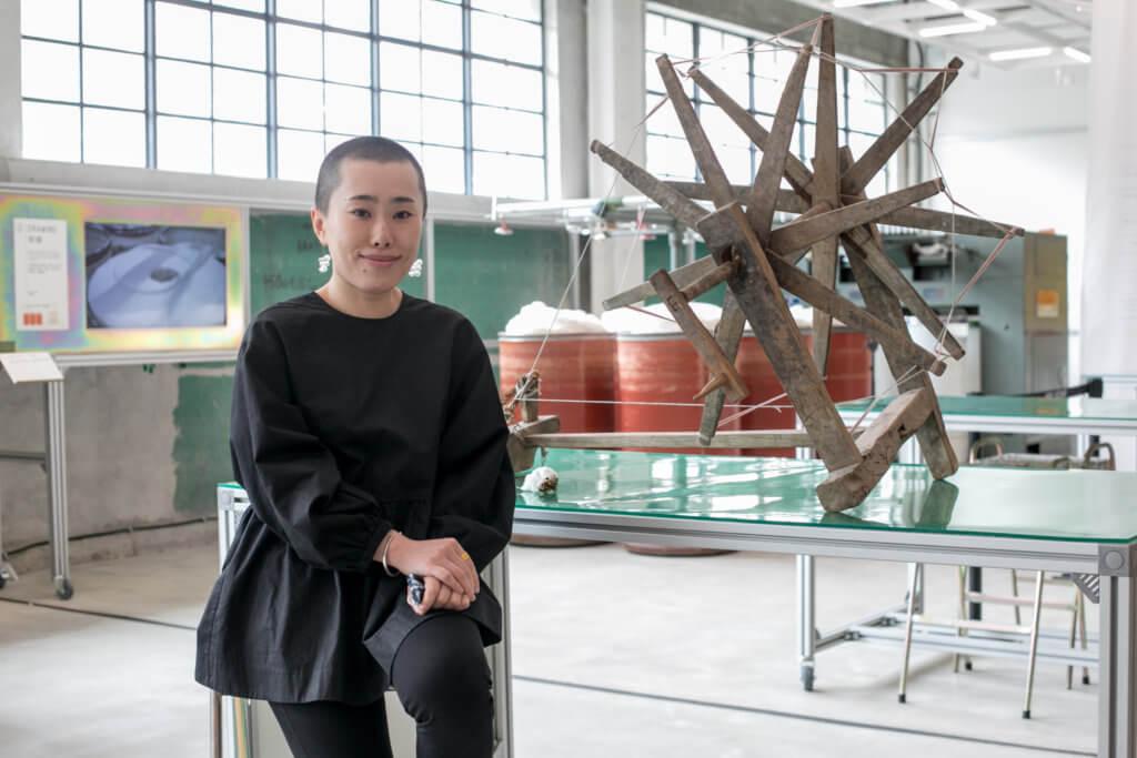 CHAT六廠策展人王慰慰