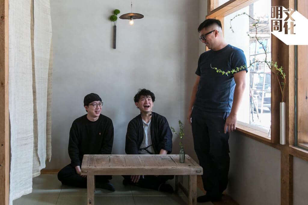 (左起)Kenneth、Vincent、家諾