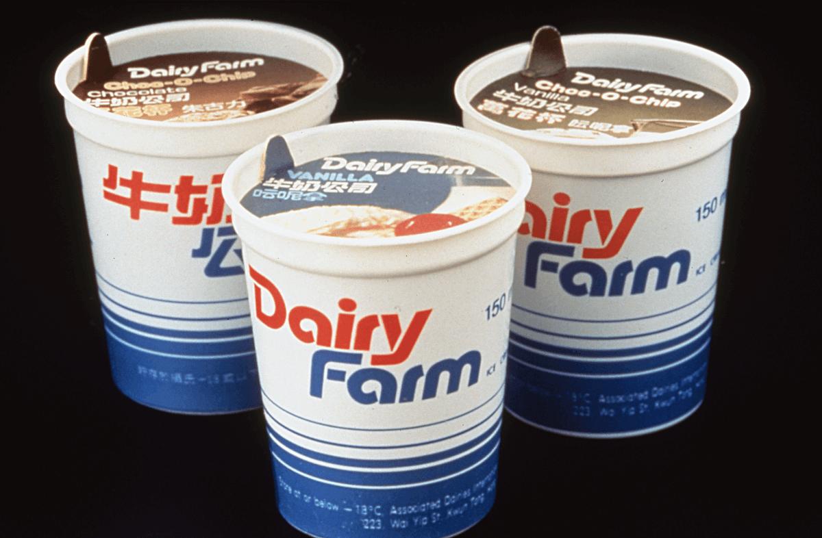 牛奶公司的設計也是出自他手