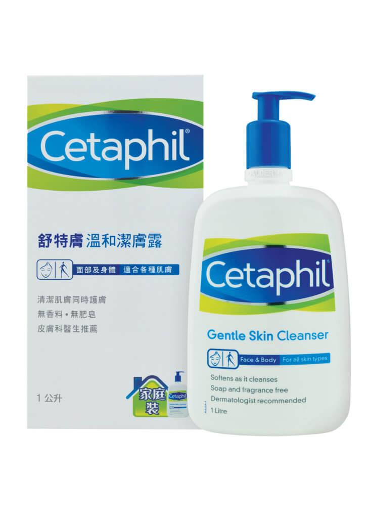 Cetaphil 舒特膚温和潔膚露 $210/1000ml 低敏配方,成份温和,不刺激肌膚及眼睛,可用於潔淨臉部及全身,卸妝及剃鬚時皆可使用,乾洗或濕洗也均可。