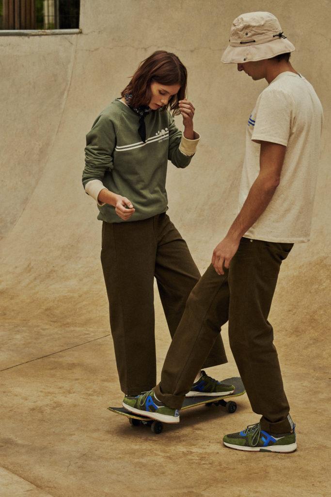 FAGUO SWEAT綠色長袖襯衣 HK$1,080 (UNISEX) FAGUO T-SHIRT短袖T恤 HK$600 (UNISEX) FAGUO PANT M & FAGUO PANT W長褲 HK$1,480 (男/女裝) FAGUO SHOES 運動鞋 HK$1,580 (UNISEX)