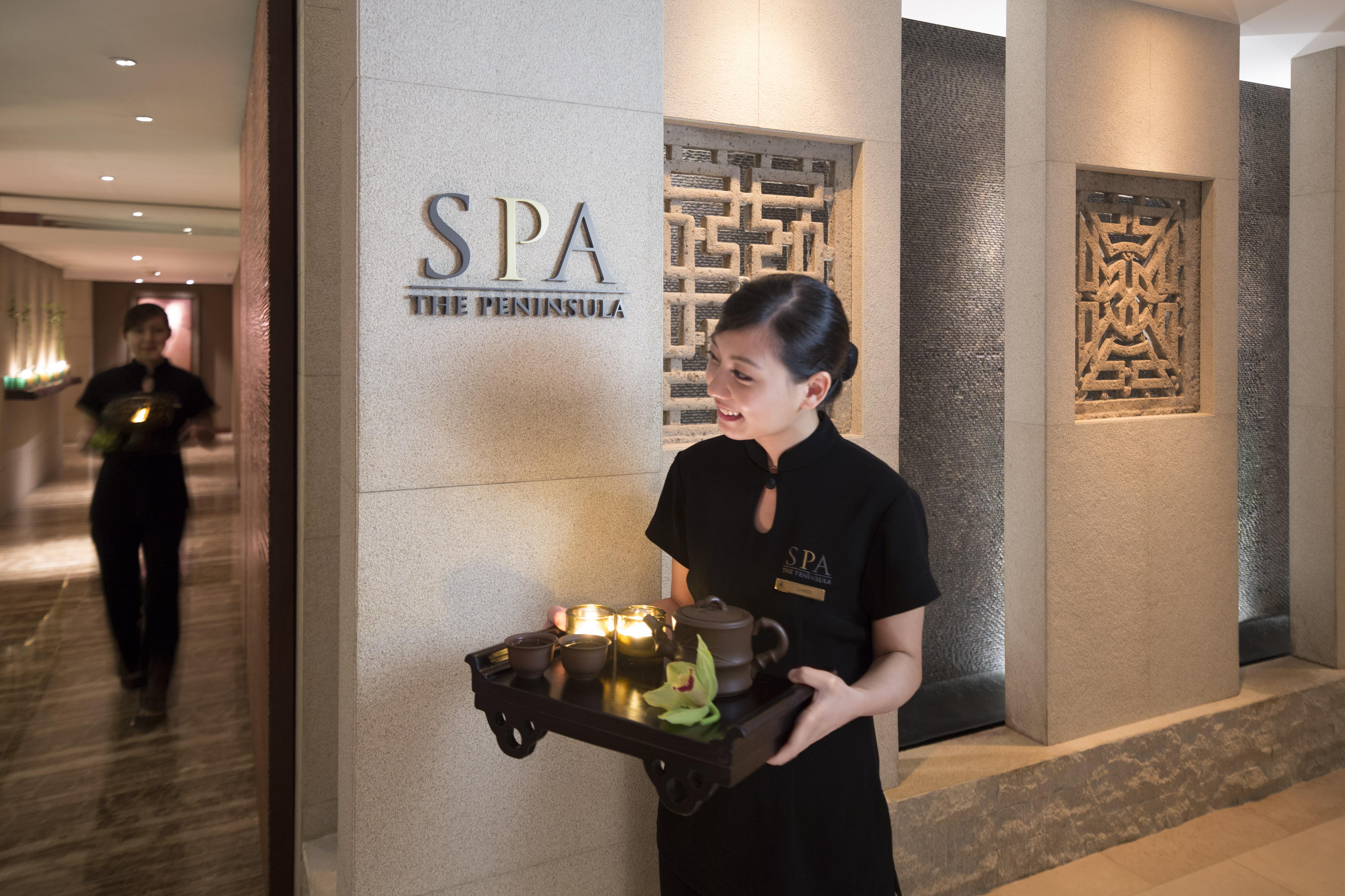 香港半島酒店是亞洲首家推出VOYA有機護膚品及護理療程的水療中心