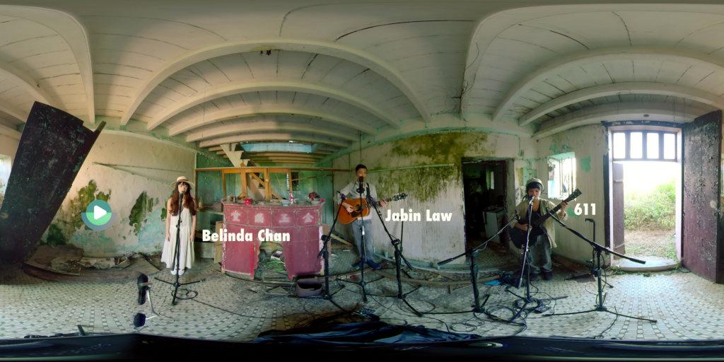 Jabin創作音樂地圖《靜謐隨行》,以科技結合音樂藝術,錄製全景音樂表演。