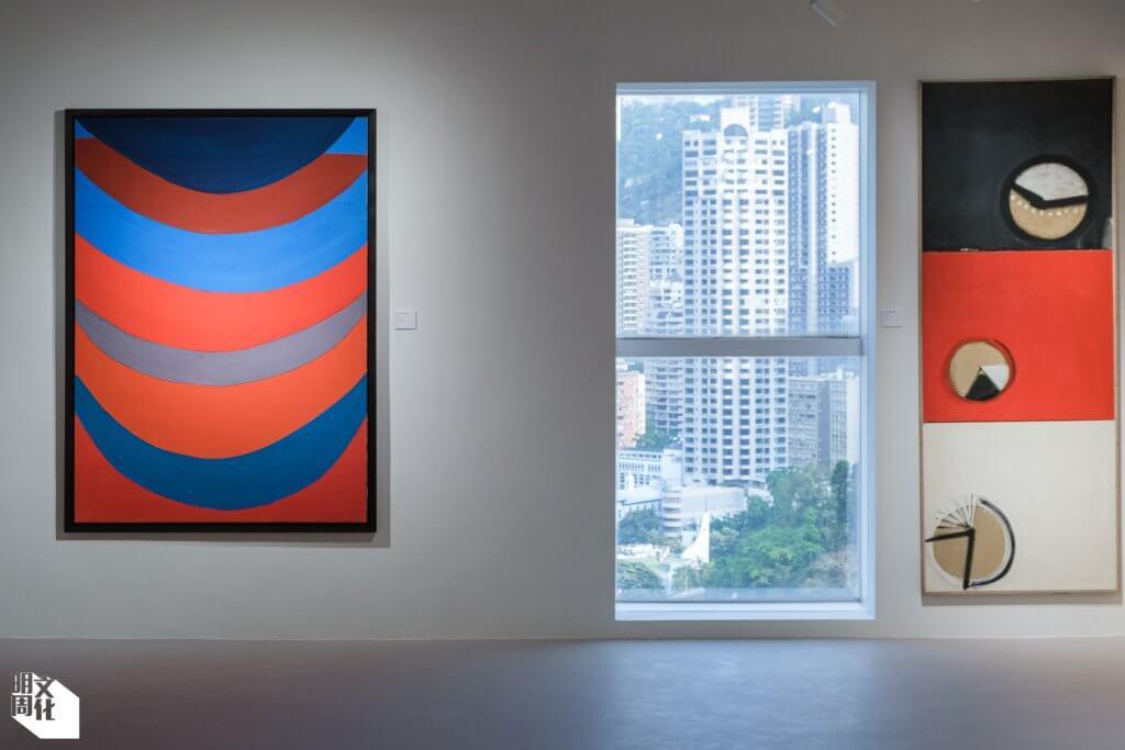 3812畫廊在香港新空間的首個展覽展出英國畫家Terry Frost的作品