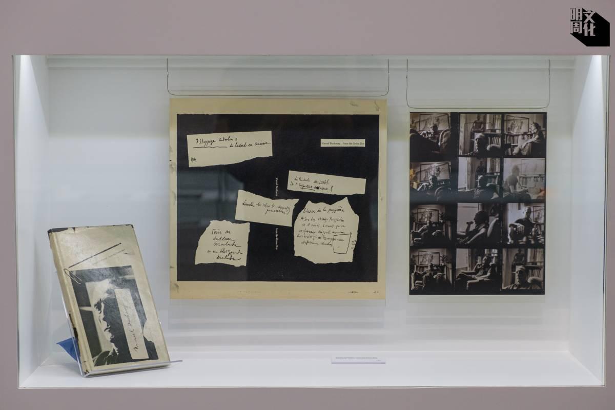 他讀大學時曾為藝術家Marcel Duchamp設計《From the Green Box》一書,他形容Duchamp是個十分有魅力,不張狂不炫耀的人。