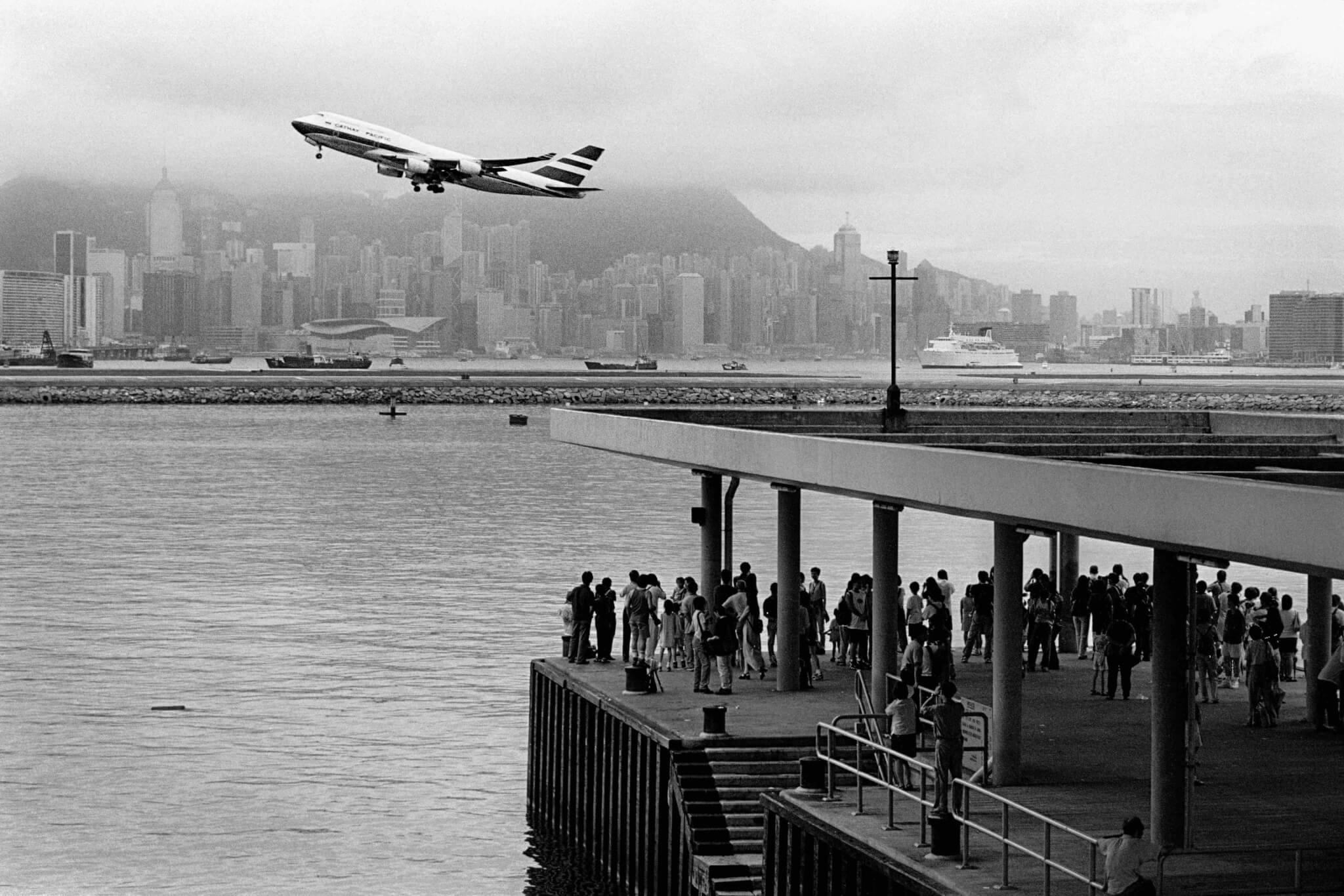 余偉建,啟德機場的最後一天,1998