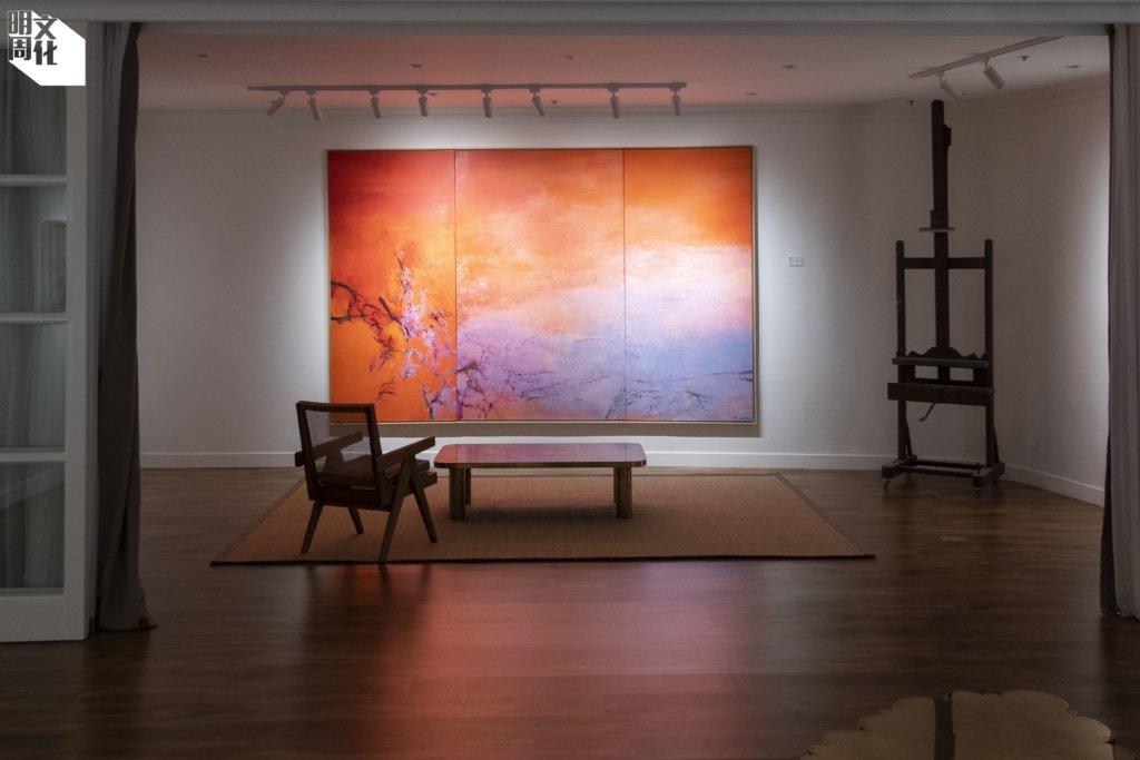 Villepin畫廊的首場展覽,展出多幅Arthur一家收藏的趙無極畫作,每幅都有其家族與趙氏的故事和友誼。