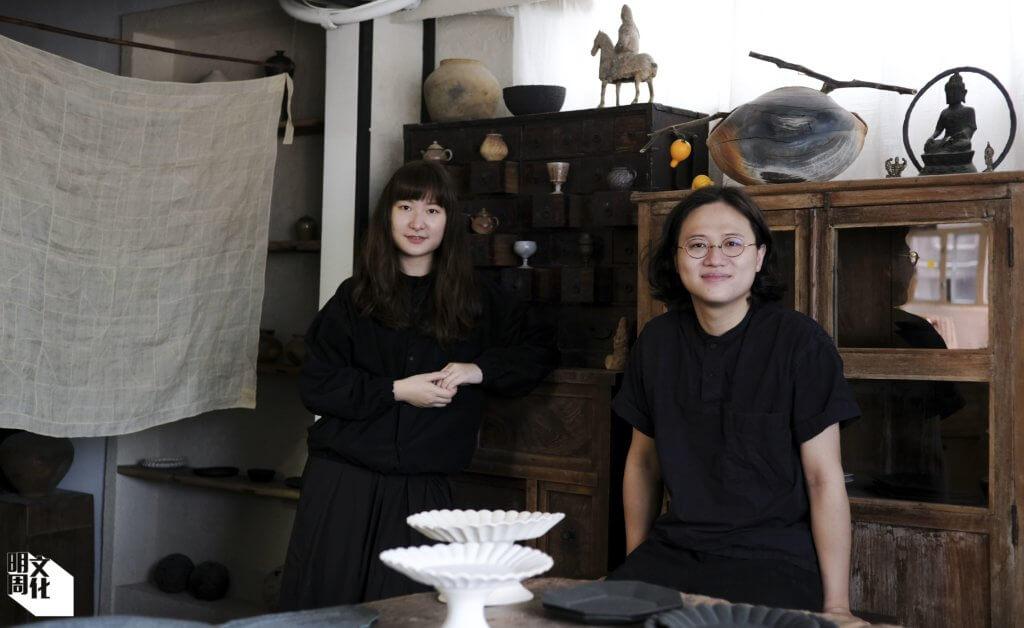 梨木製陶所創辦人Wy(左)和Ryan(右)