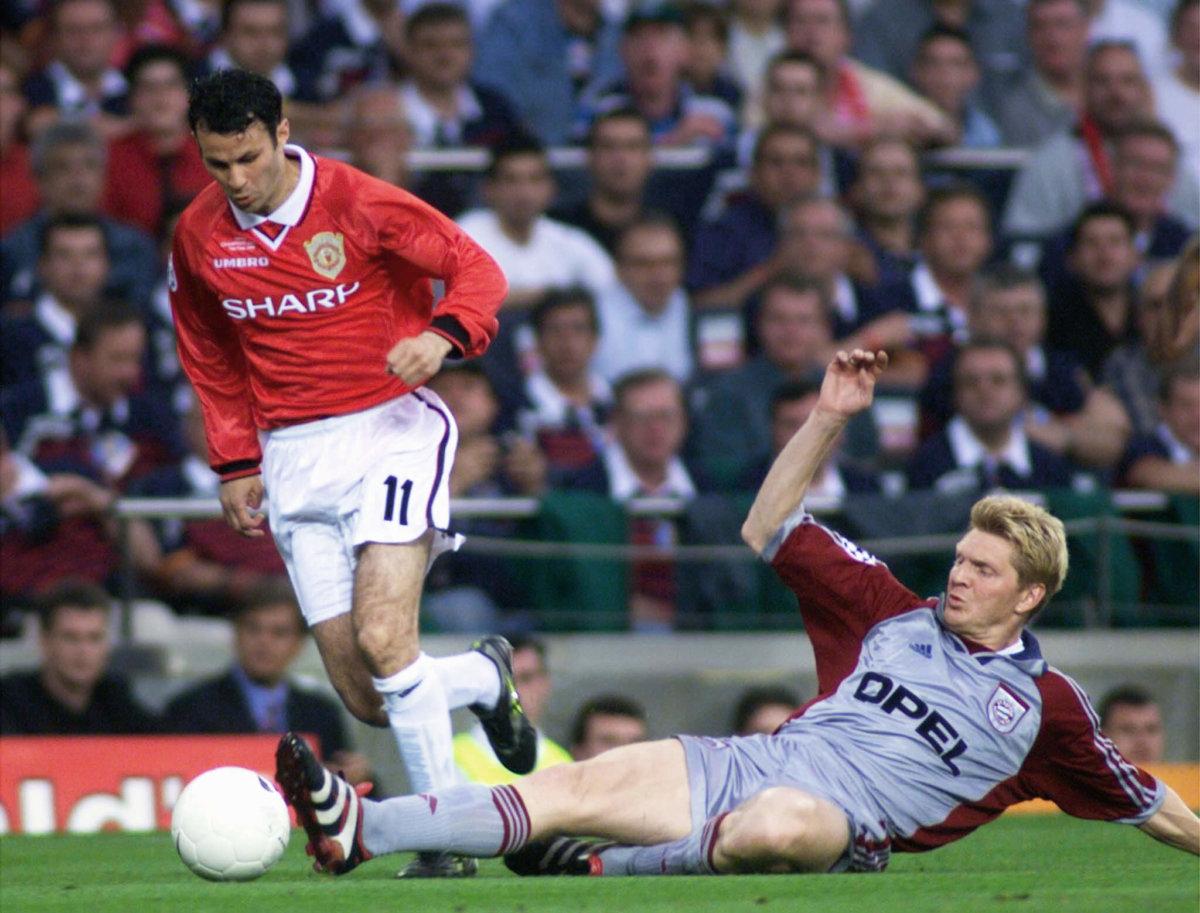 1999年,傑斯率曼聯出戰 歐聯奪冠。