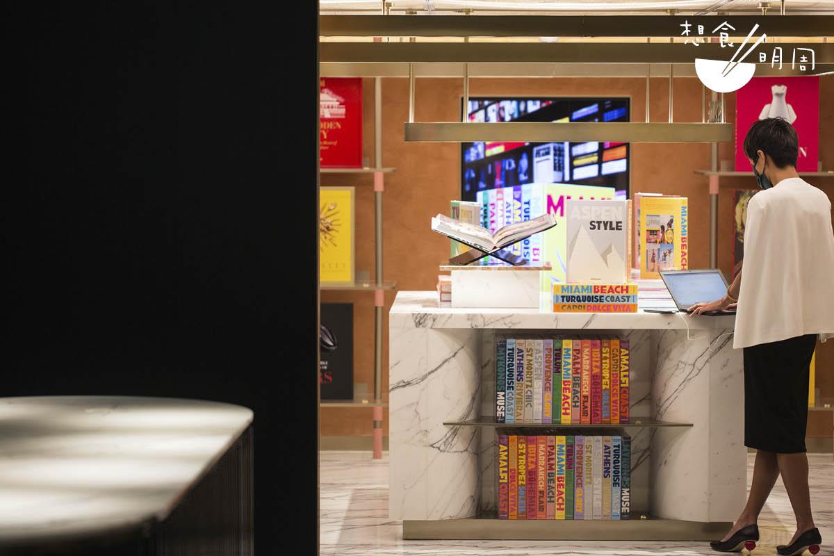 來自法國的精品書店Assouline亦進駐其中。