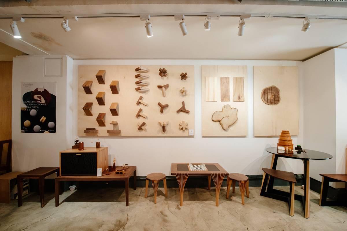 今年年頭,一眾木工人在合舍舉行「木工與他們的產地」本土木工展覽。
