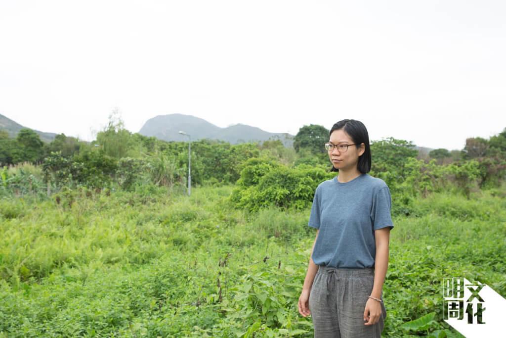 關注土地議題的她認為生活自主很重要,鄉郊一直都累積了村民的生活智慧。