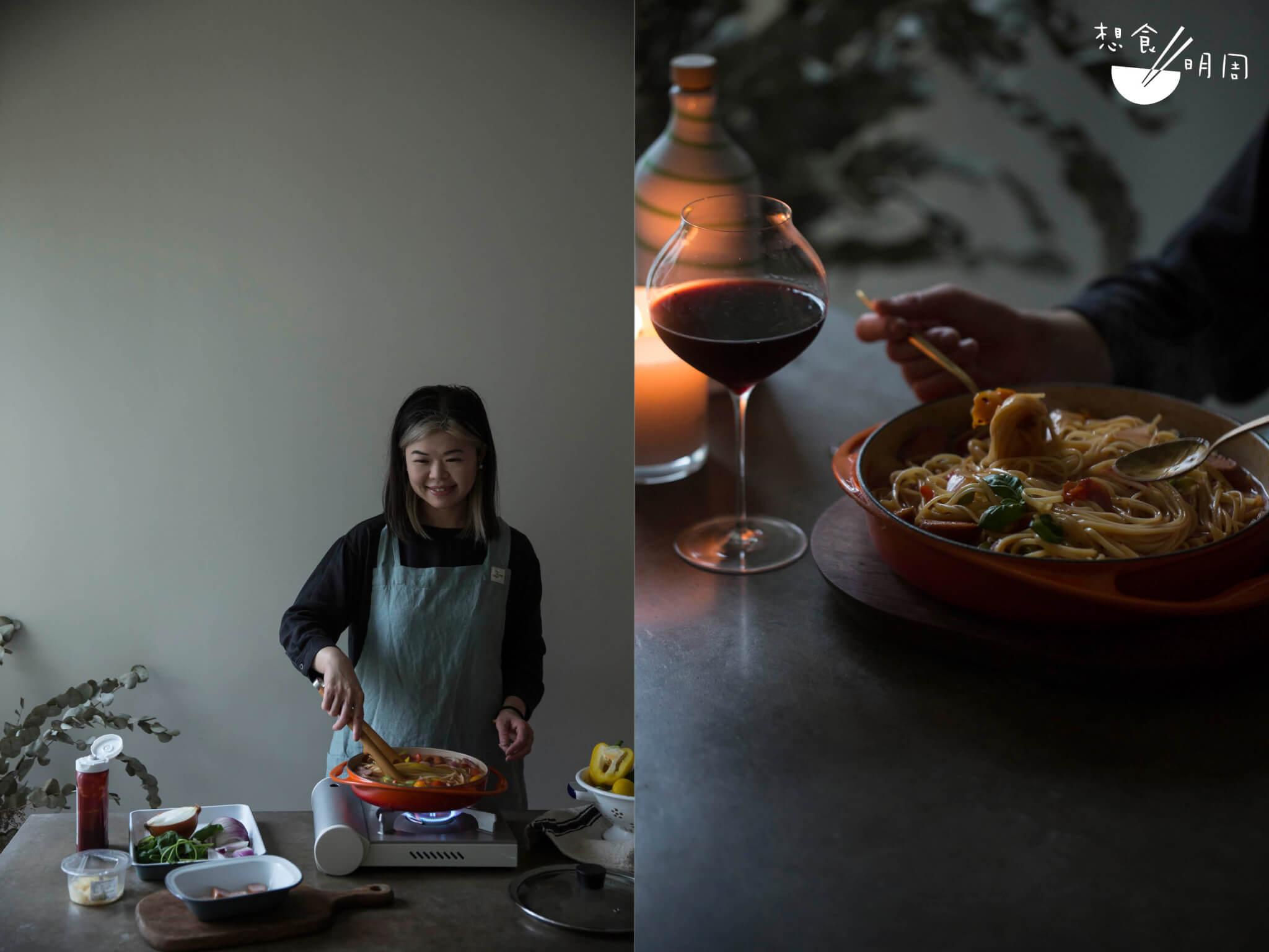 Gloria / 食物造型師/ 元朗/ 工作時的剩食