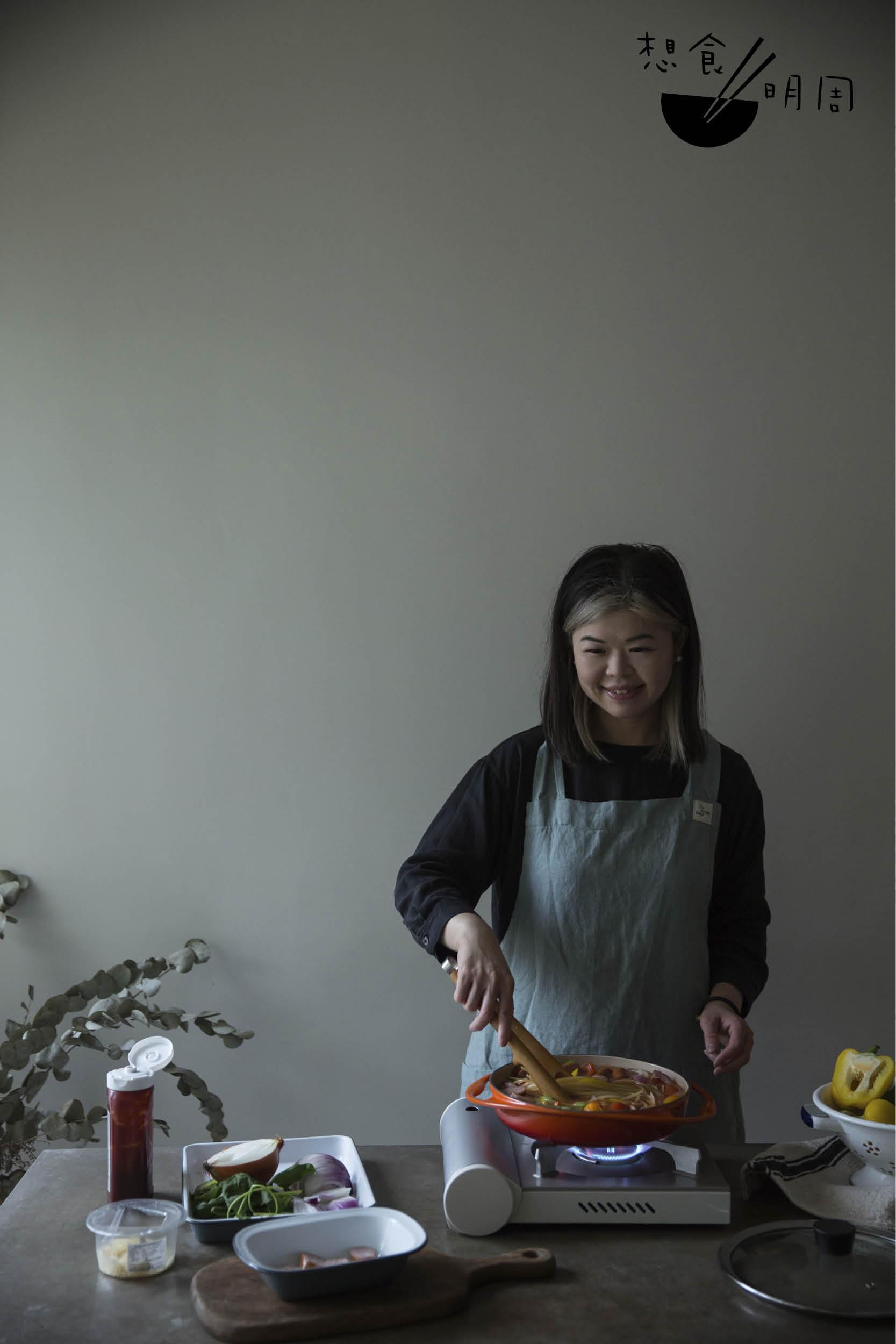 Gloria Chung,食物造型師,經營The props dept。