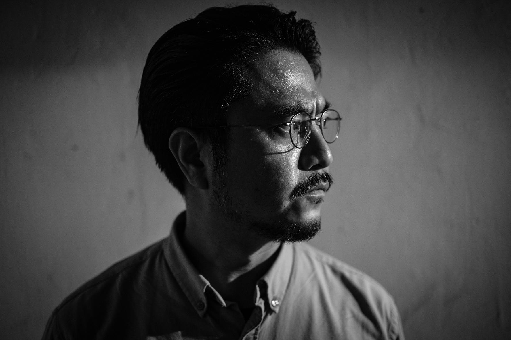 攝影記者高仲明 (攝影: Joey Leung)