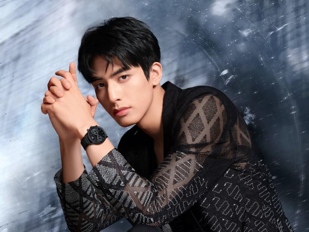 中國內地人氣新星宋威龍擔任Emporio Armani品牌亞太區男士腕錶形象代言人