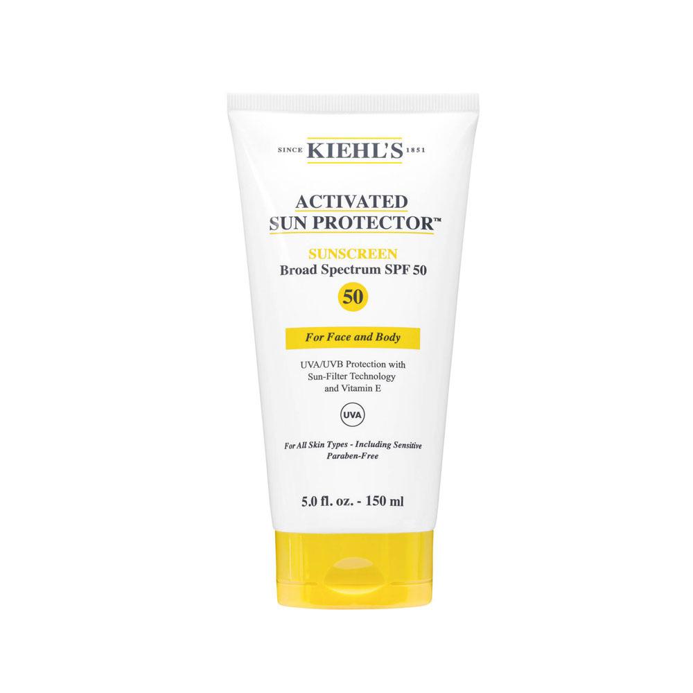 Kiehl's 強效面部及身體防曬乳SPF50 $290/150ml