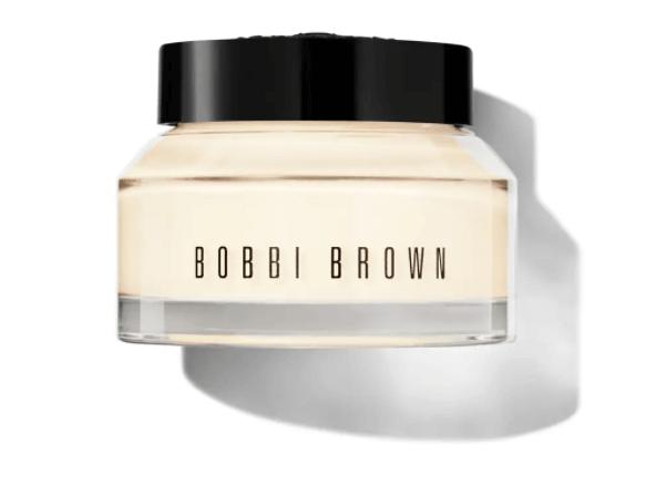 Hydrate Primer: BOBBI BROWN Vitamin Enriched Face Base 維他命營養底霜 $545/50ml 本身是乾肌,比較偏好水潤亮澤的妝感,令皮膚視覺上充滿水份,減少乾紋,這款primer有助修飾毛孔及細紋,同時幫助持妝。