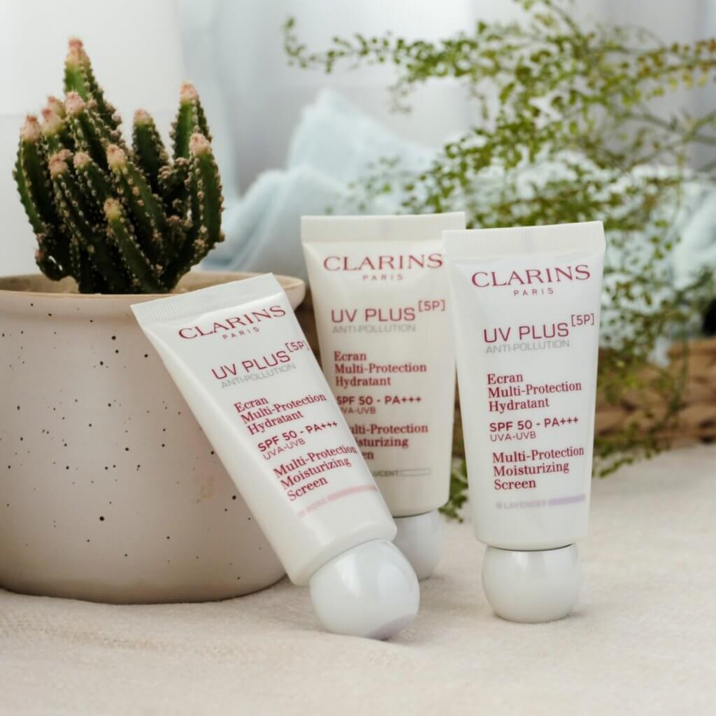 CLARINS [5P] 抗污染防曬霜 SPF50 PA+++ $420/30ml