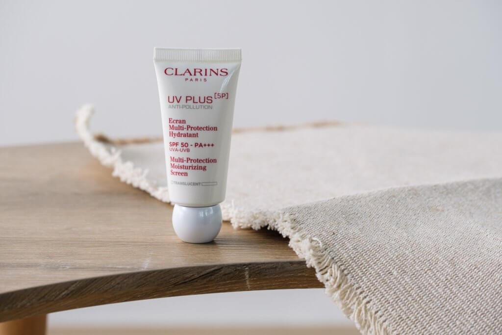 CLARINS [5P] 抗污染防曬霜 SPF50 PA+++(透明)$420/30ml