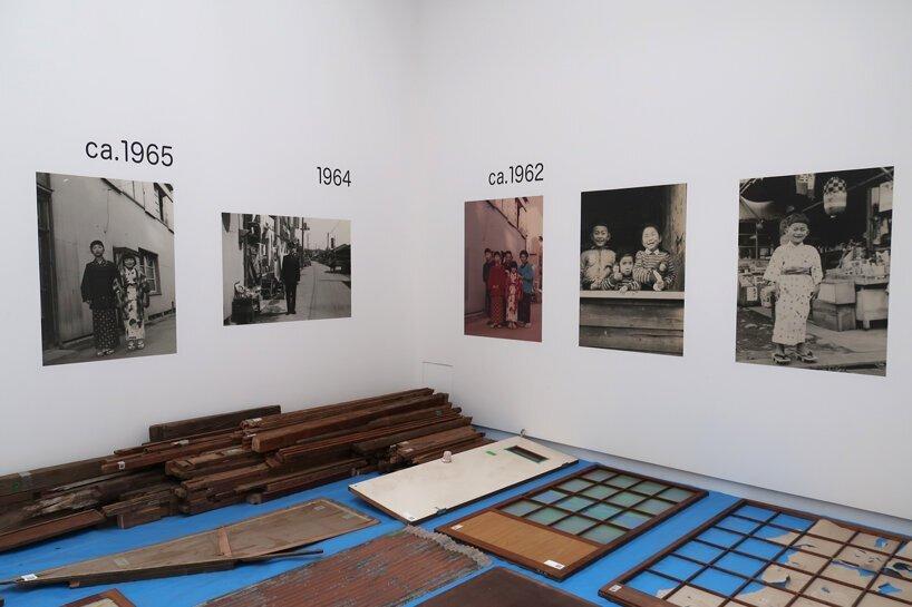 展覽展出老屋的部件和舊照片