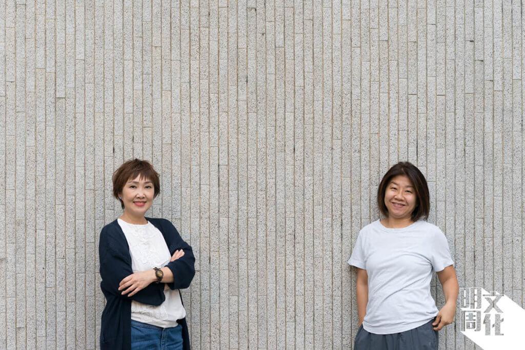《聖荷西謀殺案》導演甄詠蓓(左)與編劇莊梅岩。