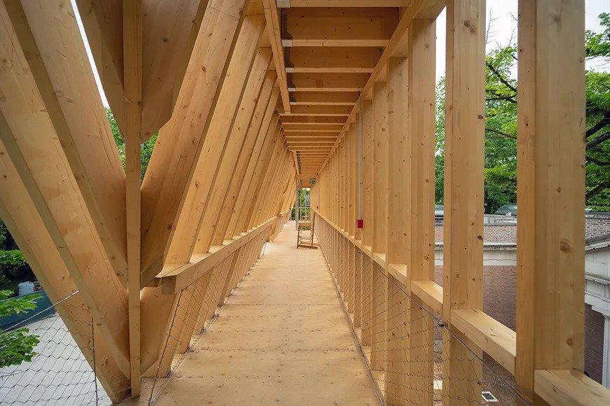 木架內的走廊