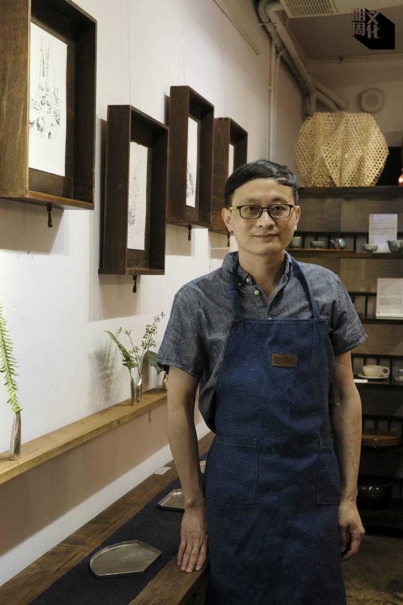 金屬工藝師蘇林海,品牌Needful Things創辦人,作品結合鍛敲、琺瑯和金工等工藝。