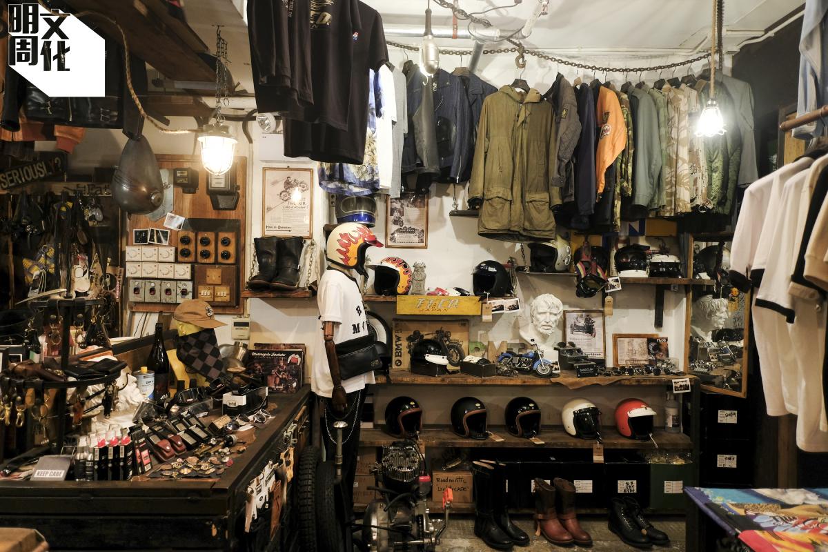 Roadmentic是香港其中兩間摩托車主題店之一,偏來走亞洲風,另一間則較西式。