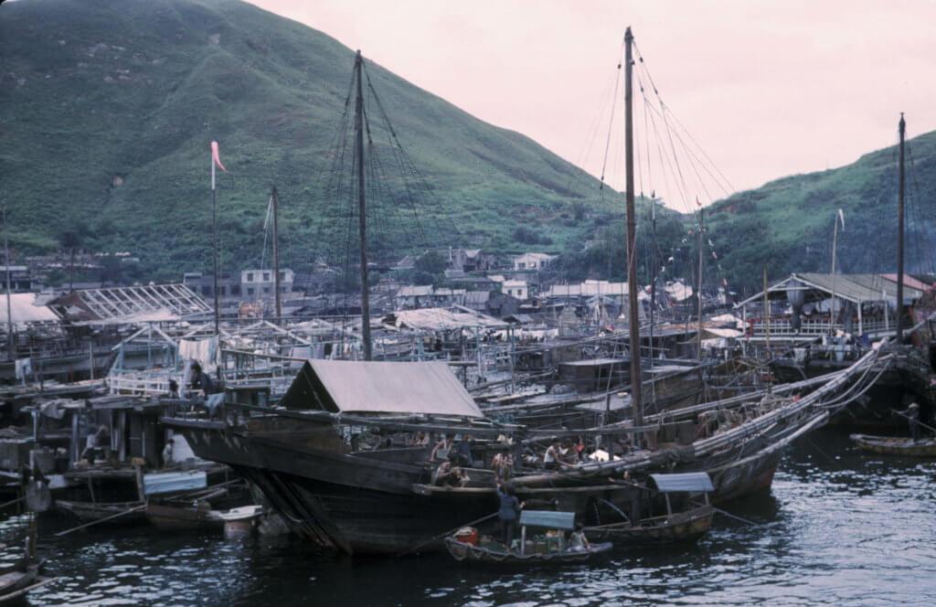 一九六二年的香港仔漁港