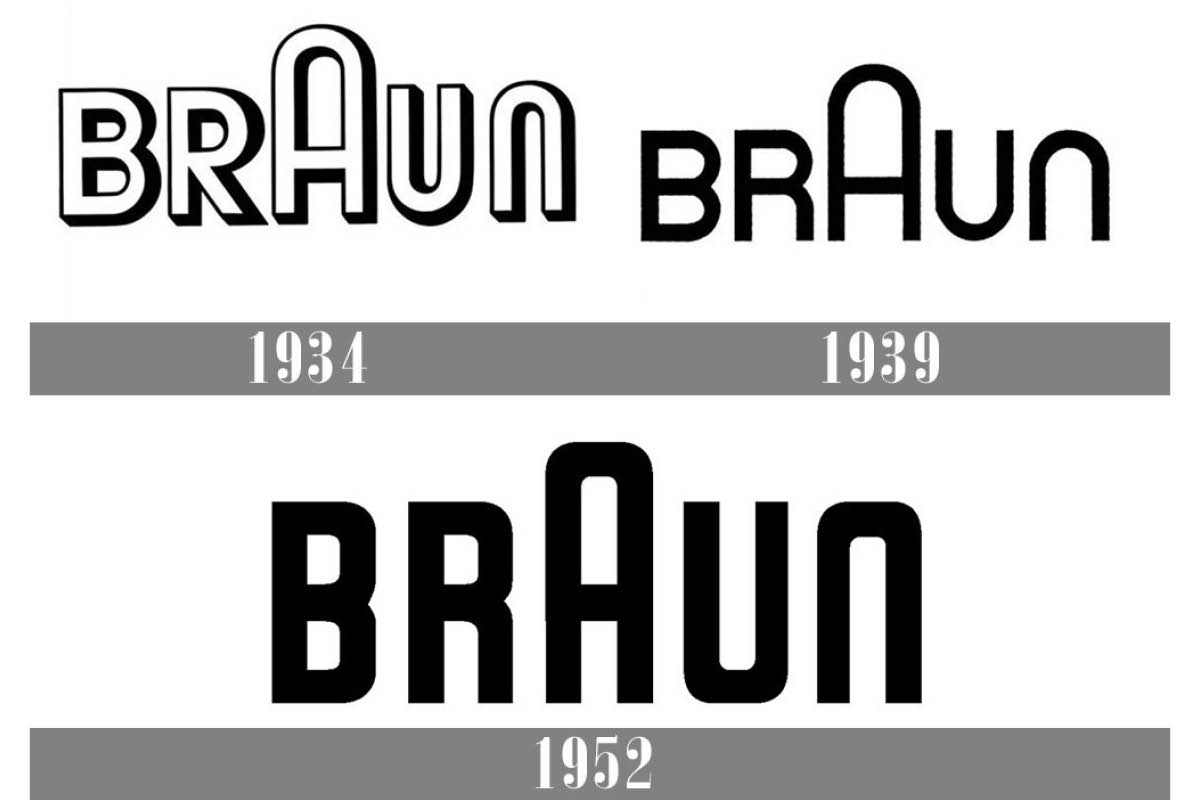 1952年Wolfgang Schmitteli為百靈牌Logo進行簡化,新Logo源用至今。