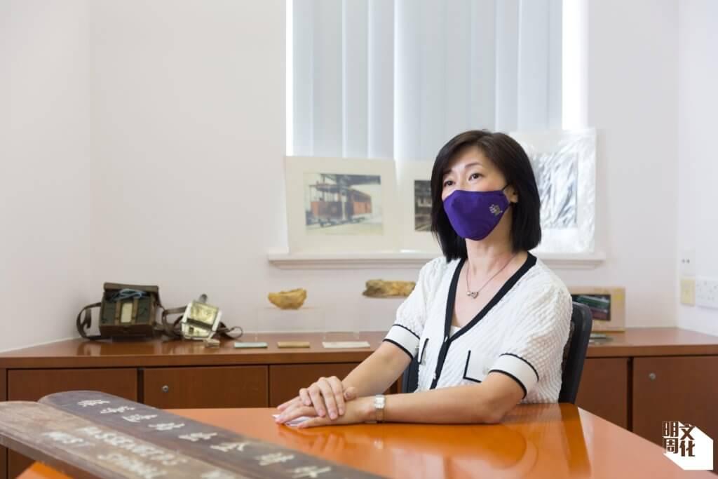 山頂纜車有限公司總經理曾瑛美