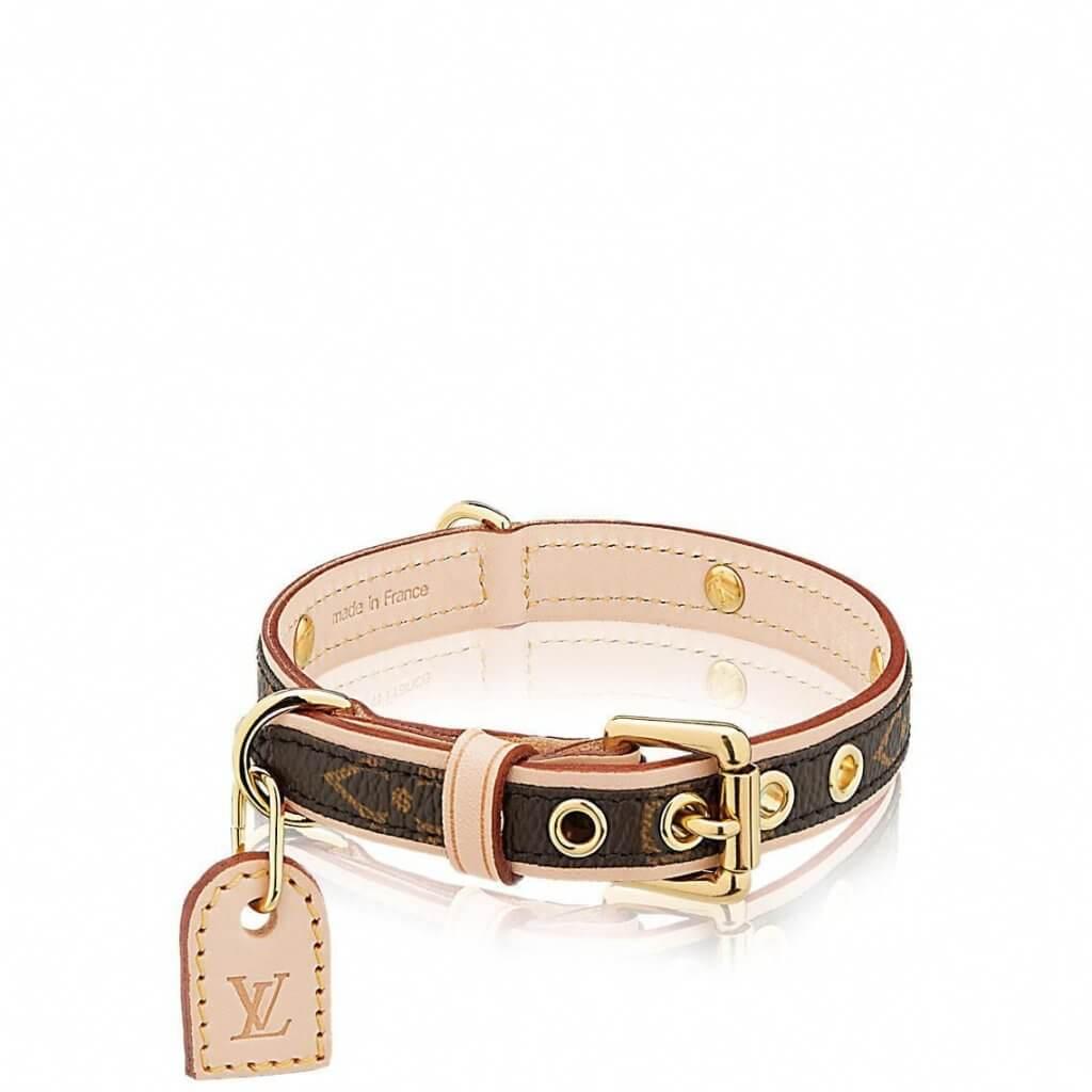Louis Vuitton Baxter Dog Collar PM $2,850