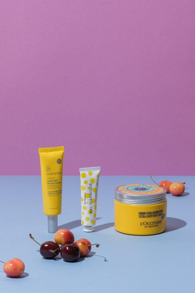 Dr. Dennis Gross Skincare All-Physical Lightweight Wrinkle Defense Broad Spectrum Sunscreen SPF30 $294 Byredo收藏版護手霜 $1,050/3枝 L'Occitane愉快乳木果輕盈潤膚霜 $340