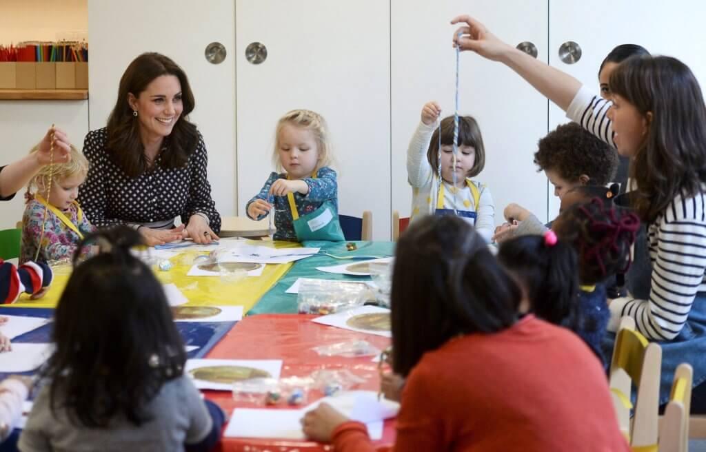 前年凱特王妃到訪Foundling Museum和兒童同樂