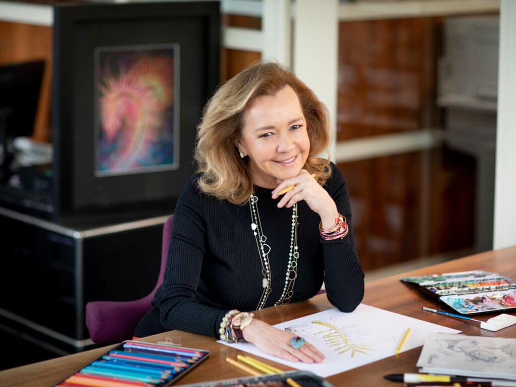 1997年,蕭邦聯合總裁兼藝術總監Caroline Scheufele與當時的康城電影節主席Pierre Viot會面,提議重新設計金棕櫚獎座,從此,賦予金棕櫚獎座新生命。
