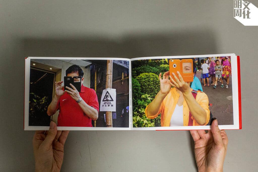 一輯相的呈現是放大或縮小,視乎影像表達的內容和閱讀體驗。