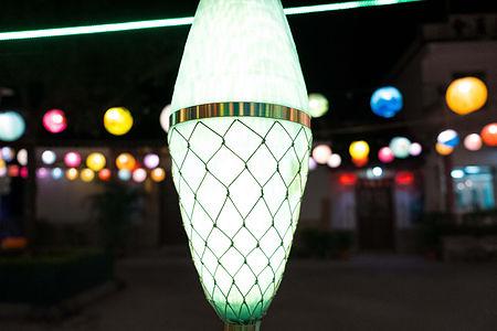 Tai O Light 採用回收漁網尼龍物料及天然繩纖維製成。