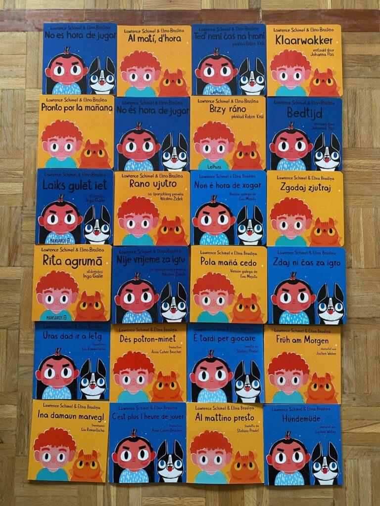 有關童書已被翻譯成12種語言 圖片來源:作者Lawrence Schimel Twitter