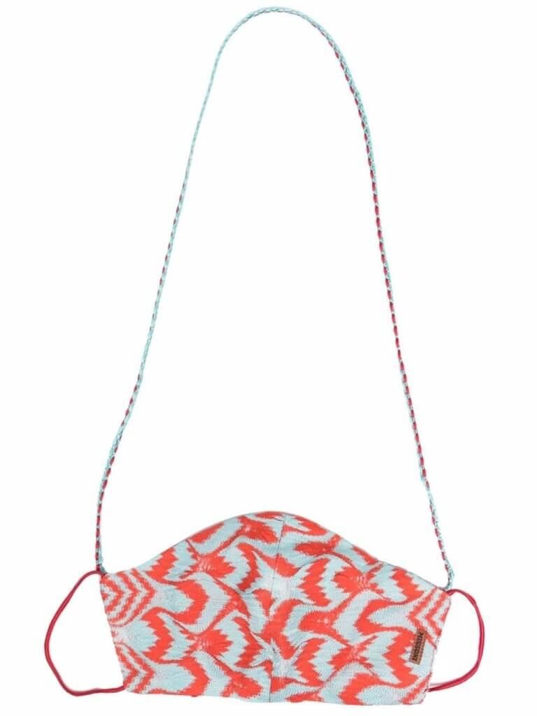 Missoni Mare crochet-knit face mask